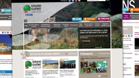 Site internet - Communauté d'Agglo de Guéret