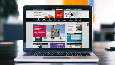 Site internet Organisateurs de voyages en Alsace - ADT Alsace