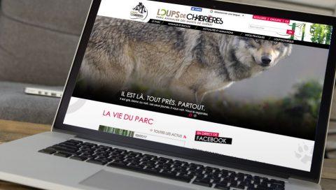 Site internet - Parc des Loups de Chabrières