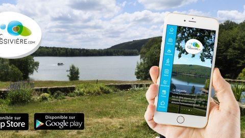 Appli mobile - Le Lac de Vassivière