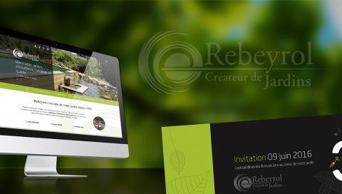 Site internet, évènementiel, print - Rebeyrol