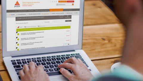 Refonte des sites internet - Prisme Limousin / Cité de métiers Limousin