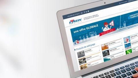 Site e-Commerce BtoB - Eyrein Industrie