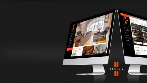 Site public & espace client - Atulam