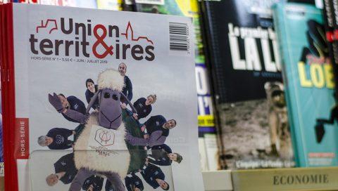 La nouvelle mouture du magazine Union & Territoires est en kiosque.