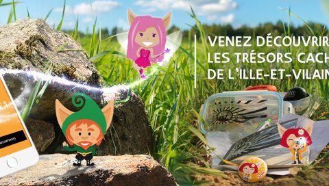 """Une nouvelle version de l'application mobile """"Trésors de Haute-Bretagne"""""""
